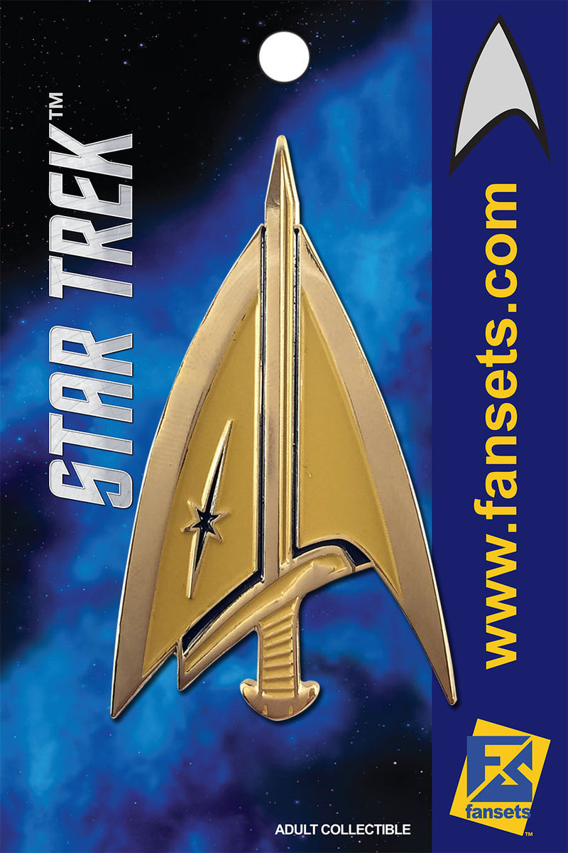 Star Trek Mirror TERRAN DELTA Logo Licensed FanSets MicroCrew Collector's Pin