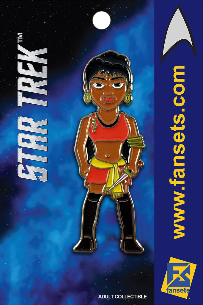 Star Trek MIRROR UHURA Licensed FanSets MicroCrew Collector's Pin