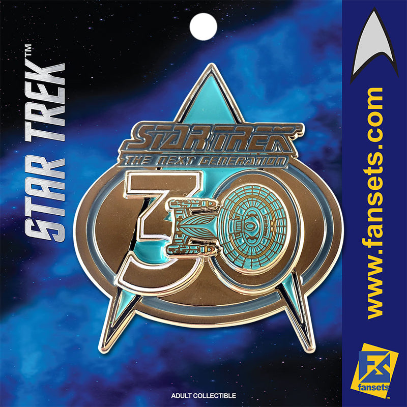 Star Trek The Next Generation 30th Anniversary Licensed FanSets Pin