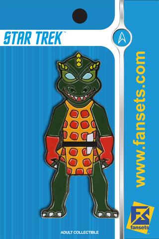 Star Trek GORN COLOR CORRECTED* Licensed FanSets MicroCrew Collector's Pin