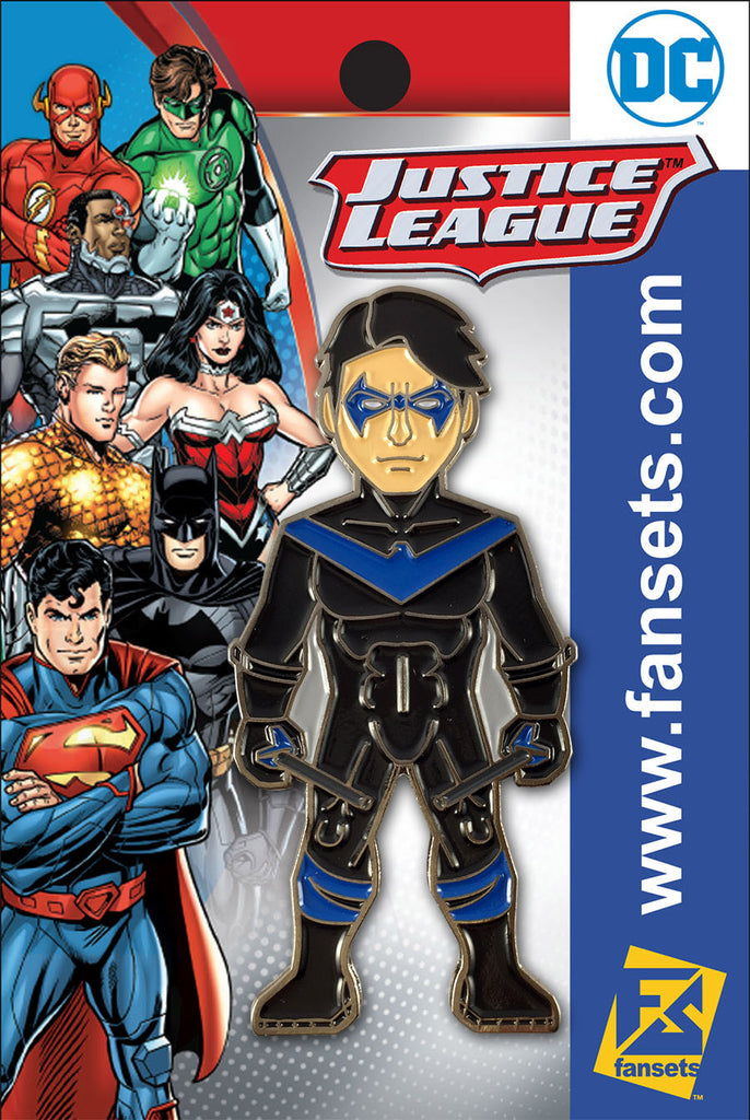 DC Comics Teen Titans NIGHTWING (Rebirth) Licensed FanSets Pin MicroJustice