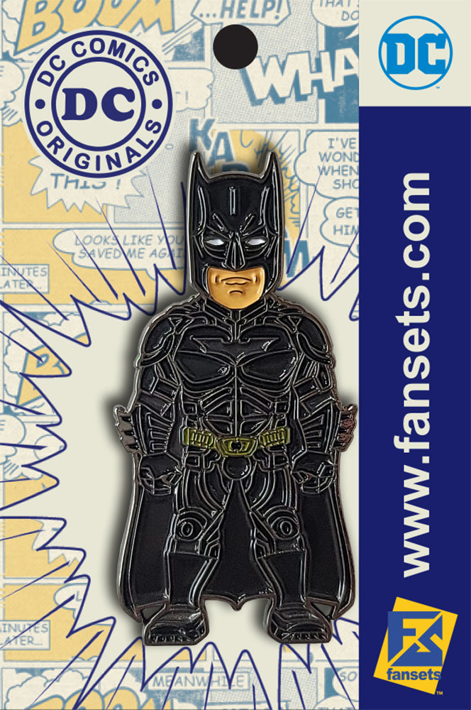 DC Comics BATMAN The DARK KNIGHT Licensed FanSets Pin MicroJustice