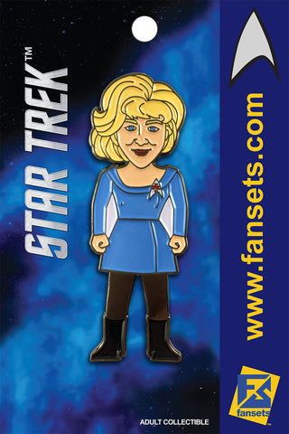 Star Trek Nurse Christine CHAPEL Licensed FanSets MicroCrew Collector's Pin