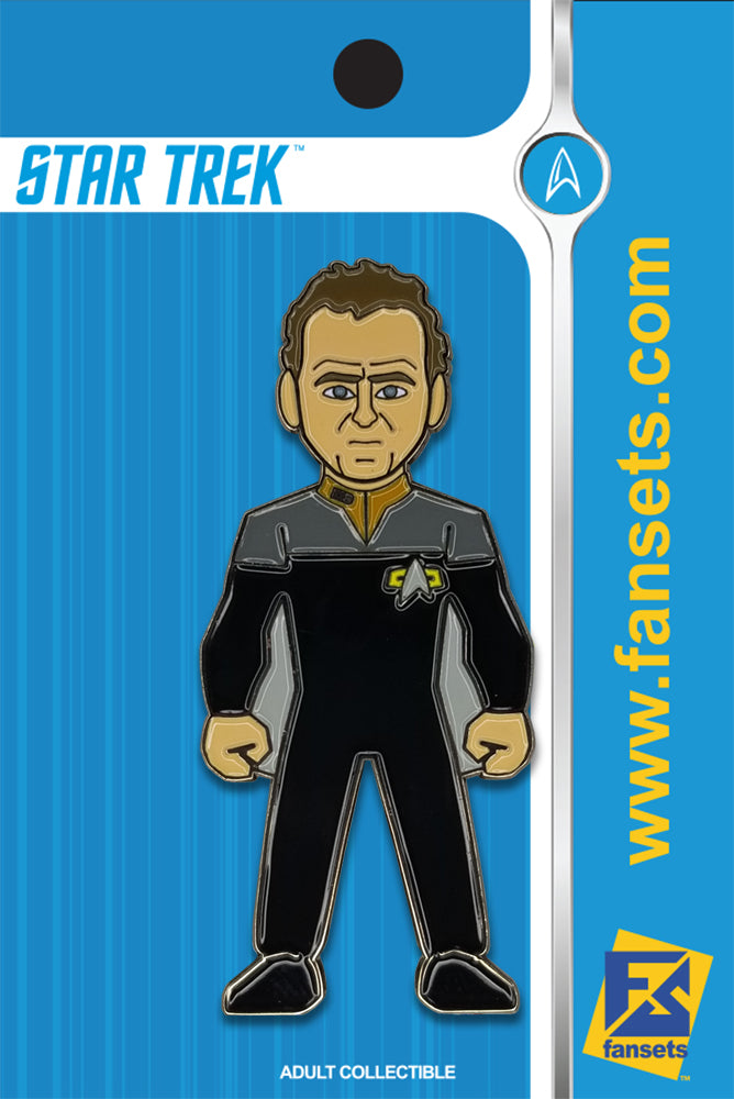 Star Trek Miles O'BRIEN Licensed FanSets MicroCrew Collector's Pin