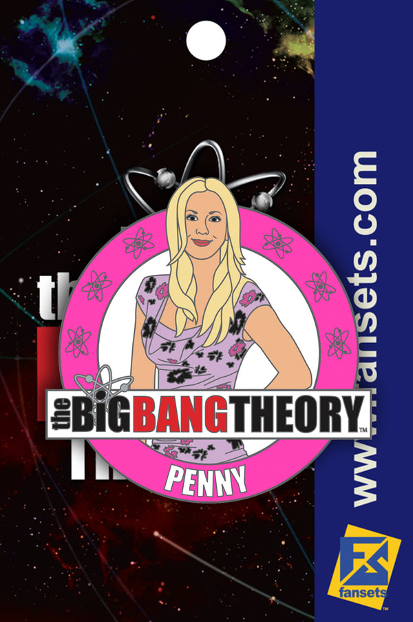 Big Bang Theory Penny Licensed FanSets Pin