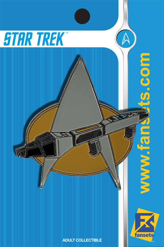 Star Trek Delta Phaser Rifle TrekTech™ Licensed FanSets Pin