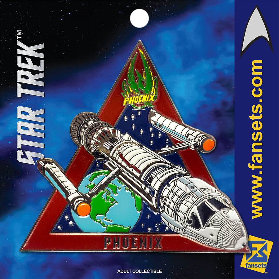 Star Trek MicroFleet PHOENIX Licensed FanSets Collector's Pin