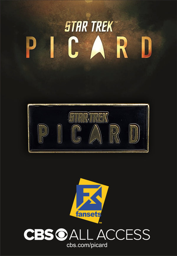 Star Trek: Picard LOGO Licensed FanSets Pin