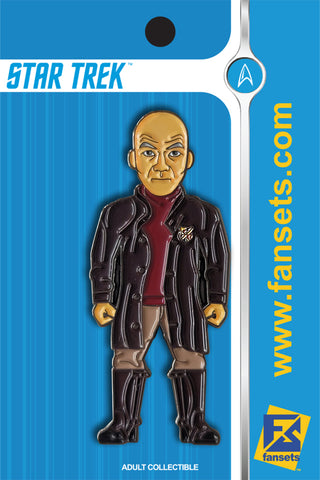 Star Trek Captain Picard Licensed FanSets MicroCrew Collector's Pin