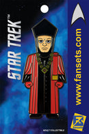 Star Trek Q Licensed FanSets MicroCrew Collector's Pin