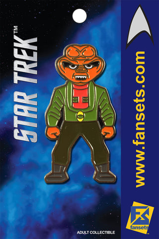Star Trek QUARK Licensed FanSets MicroCrew Collector's Pin