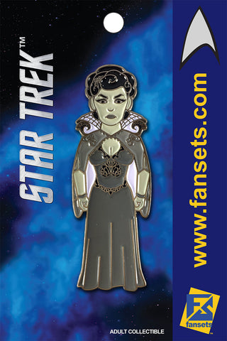 Star TreK QUEEN ARACHNIA Licensed FanSets MicroCrew Collector's Pin