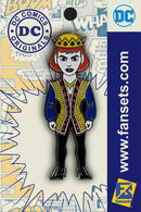DC Comics Classic Queen Licensed FanSets Pin