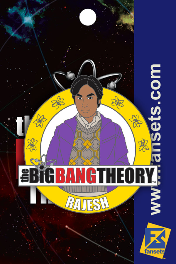 Big Bang Theory Rajesh Licensed FanSets Pin