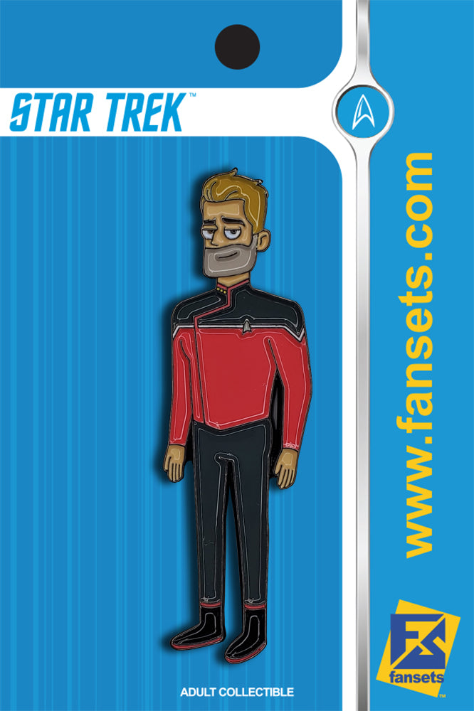 Star Trek Lower Decks JACK RANSOM Licensed FanSets MicroCrew Collector's Pin