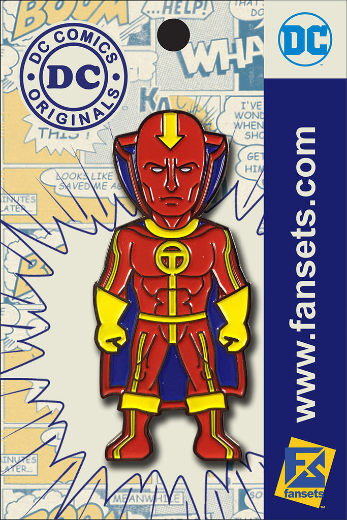 DC Comics Classic SHAZAM Licensed FanSets Pin MicroJustice