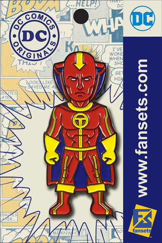 DC Comics Classic RED TORNADO Licensed FanSets Pin MicroJustice