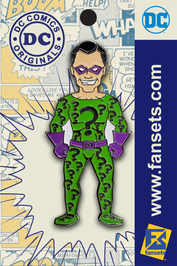 DC Classics The Riddler Licensed Fansets Pin