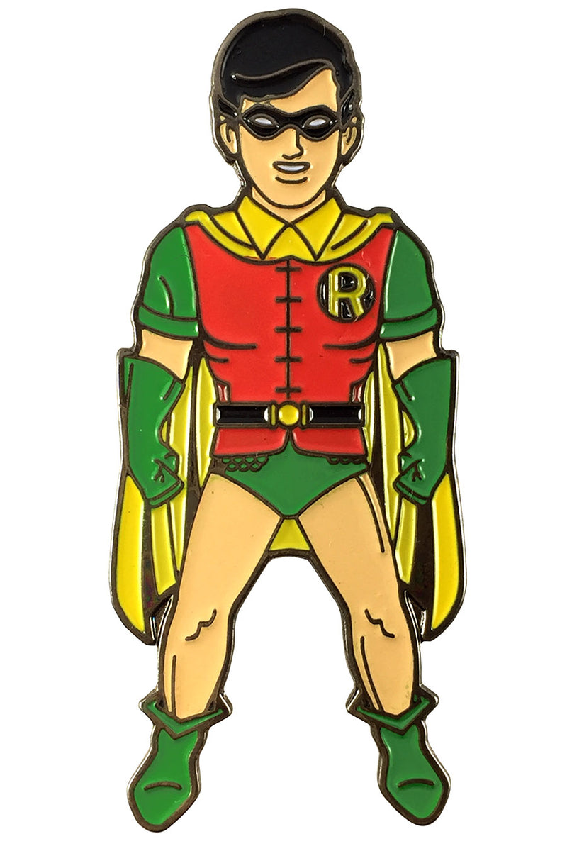 DC Comics Classic ROBIN Licensed FanSets Pin MicroJustice