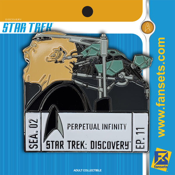 Star Trek Discovery Season 2 Episode 11 FanSets Pin
