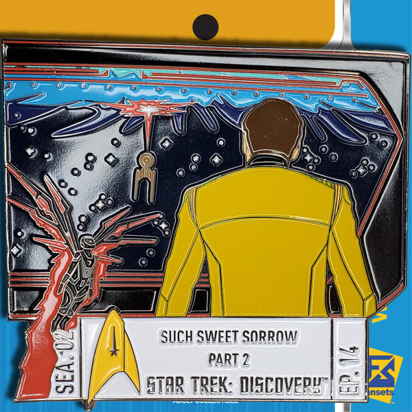 Star Trek Discovery Season 2 Episode 14 Licensed FanSets Pin