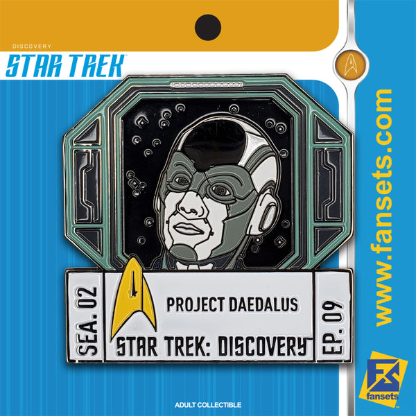 Star Trek Discovery Season 2 Episode 9 FanSets Pin