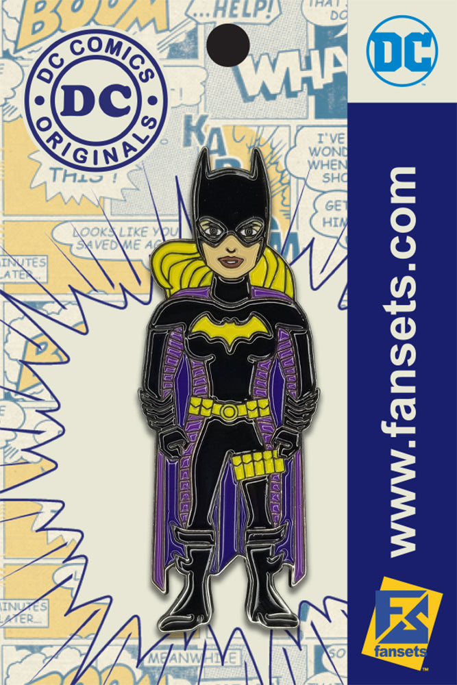 DC Comics Classic STEPH BROWN BATGIRL Licensed FanSets Pin MicroChracters