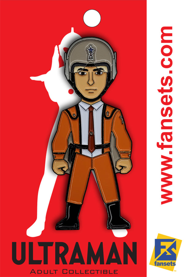 Ultraman SSSP Member Licensed FanSets Pin