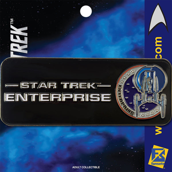 Star Trek: Enterprise Logo Licensed FanSets Pin