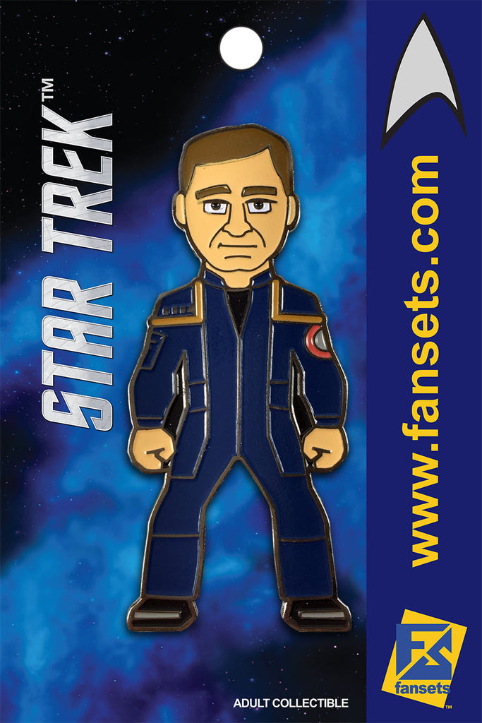 Star Trek CAPT ARCHER Licensed FanSets MicroCrew Collector's Pin