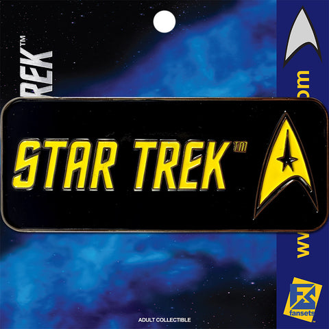 Star Trek SERIES THE ORIGINAL SERIES Licensed FanSets Logo Collector's Pin