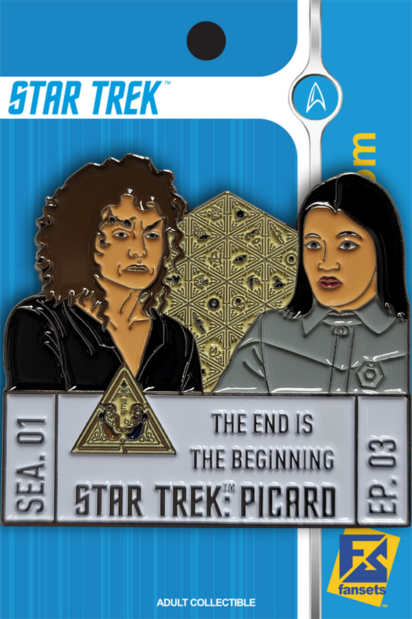 Star Trek: Picard Episode Pins Season One EPISODE THREE Licensed FanSets Pin