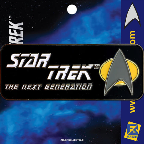 Star Trek SERIES THE NEXT GENERATION Licensed FanSets Logo Collector's Pin
