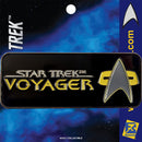 Star Trek: Voyager Logo Licensed FanSets Pin