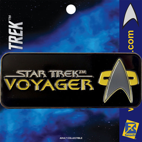 Star Trek SERIES VOYAGER Licensed FanSets Logo Collector's Pin