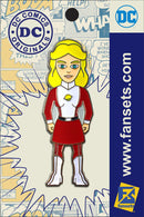 DC Comics Classic SATURN GIRL Licensed FanSets Pin MicroJustice