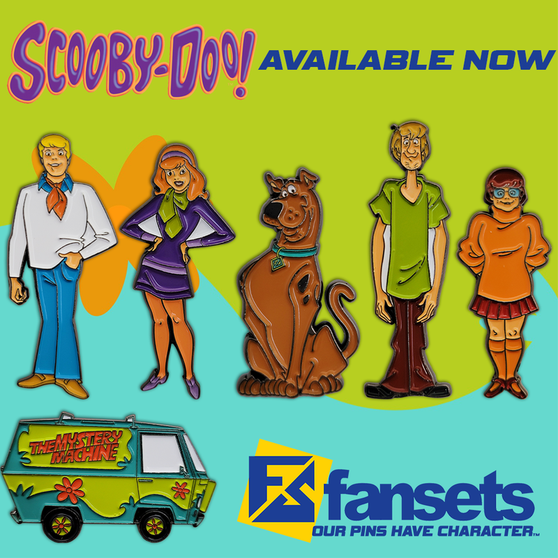 Scooby Doo 6 PACK SPECIAL Classic Licensed FanSets Pin