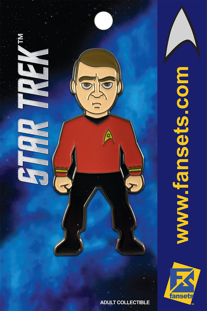 Star Trek Mr. Scott (SCOTTY) Licensed FanSets MicroCrew Collector's Pin