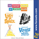 Irwin Allen's Voyage to the Bottom of the Sea SSRN SEAVIEW™ FanSets MicroFleet™ Pin