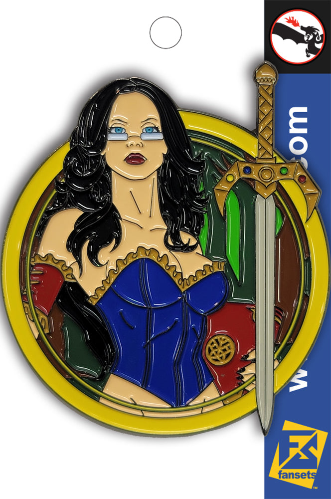 Zenescope Pin-Ups Sela Mathers SNOW WHITE Pin Licensed FanSets Pin