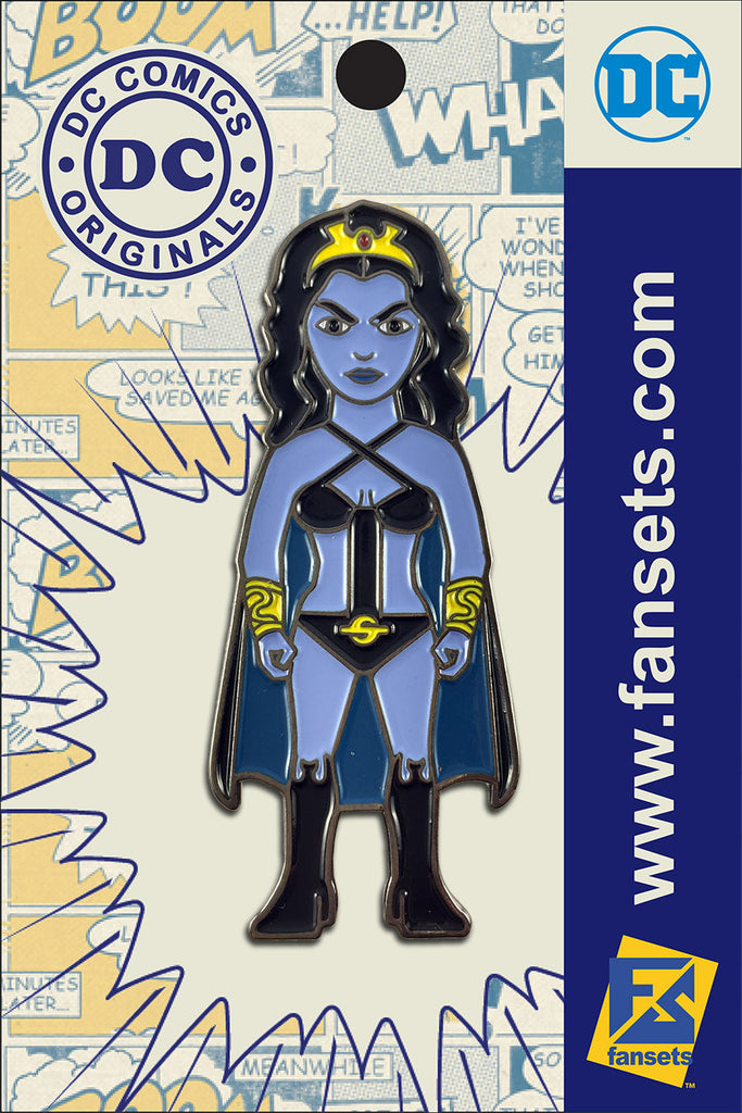 DC Comics Classic SHADOW LASS Licensed FanSets Pin MicroJustice