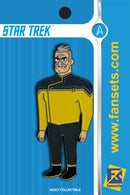 Star Trek Lower Decks SHAXS Licensed FanSets MicroCrew Collector's Pin