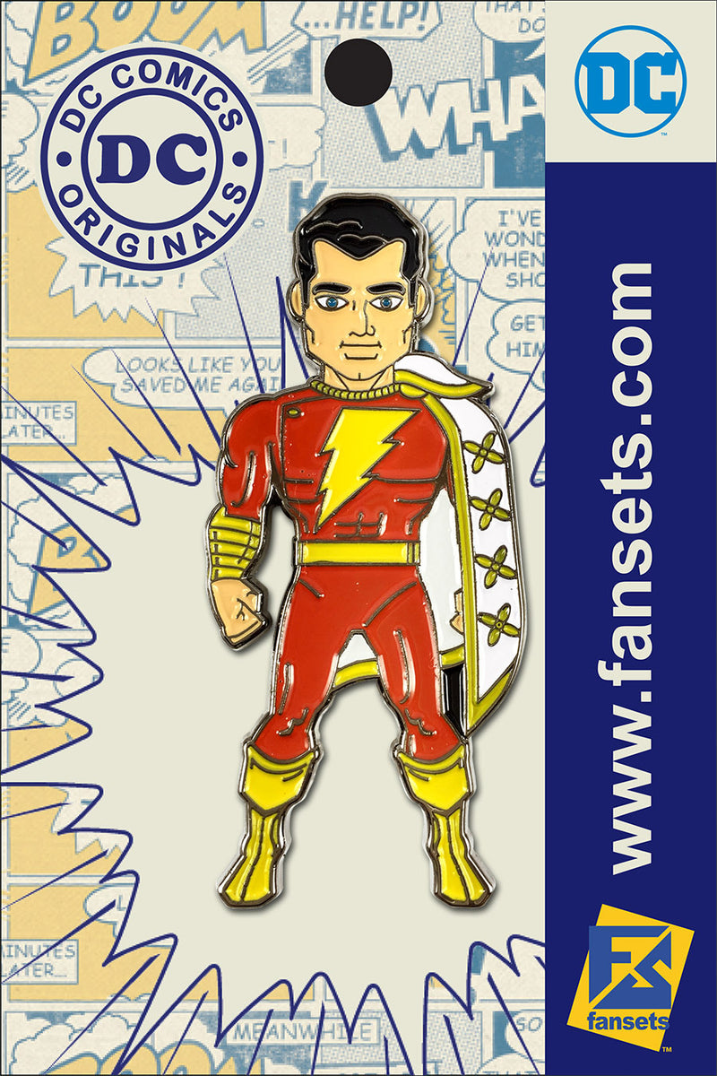 DC Comics Classic SHAZAM! Licensed FanSets Pin MicroJustice