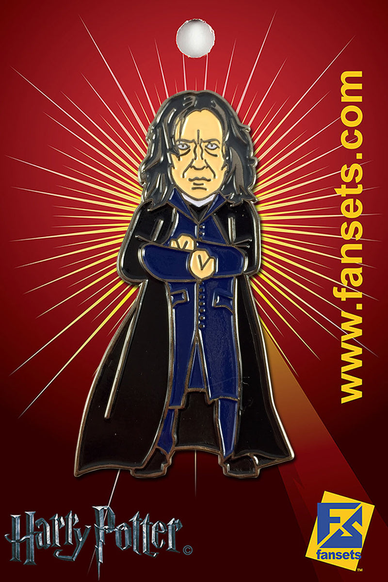 Harry Potter Prof. SNAPE Licensed FanSets Pin MicroMagic