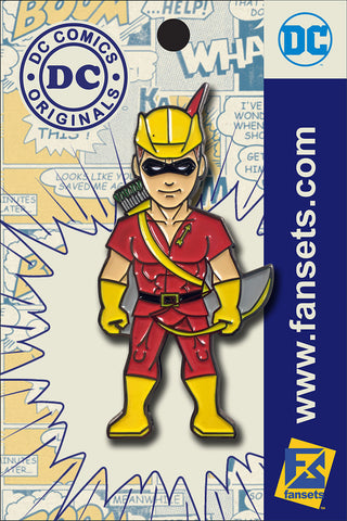 DC Comics Classic SPEEDY Licensed FanSets Pin MicroHeroes™