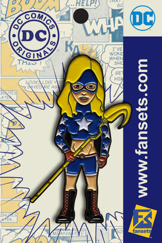 DC Comics Classic Stargirl Licensed Fansets Pin