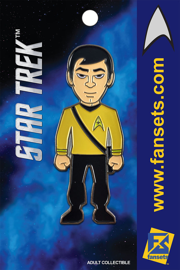Star Trek Mr. SULU Licensed FanSets MicroCrew Collector's Pin