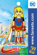 DC Comics SuperHero Girls SUPERGIRL Licensed FanSets Pin MicroChracters