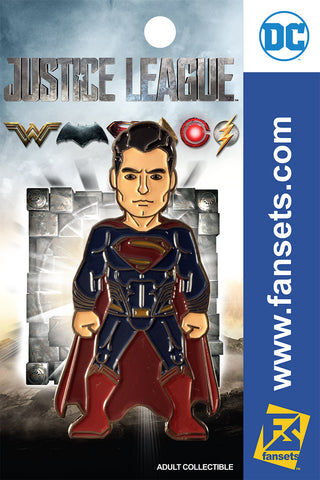 DC Comics Justice League MOVIE SUPERMAN Licensed FanSets Pin MicroJustice