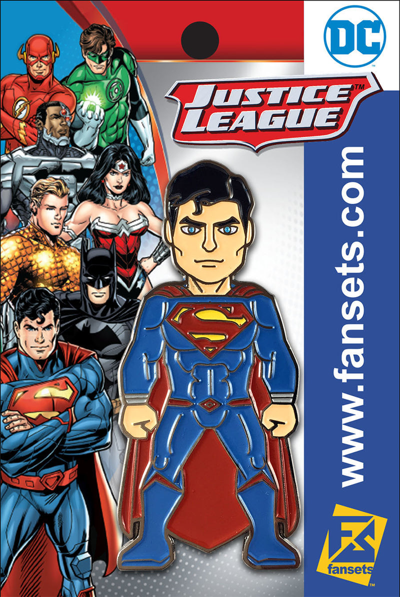 DC Comics Justice League SUPERMAN (Rebirth) Licensed FanSets Pin MicroJustice